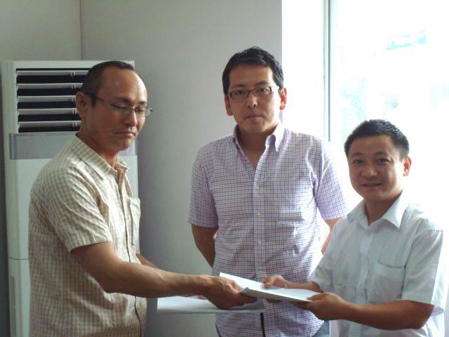 本公司与某企业签订合作合同